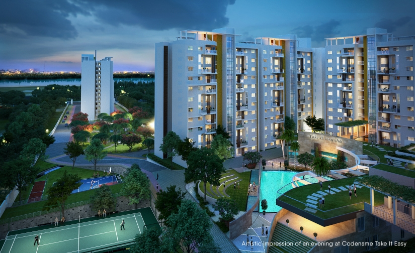 Shriram Blue is a launched project in KR Puram Bangalore.